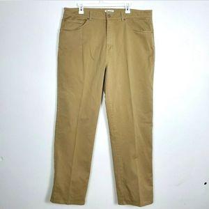 Peter Millar Chino Flat Front Pants 5 Pocket 40x33
